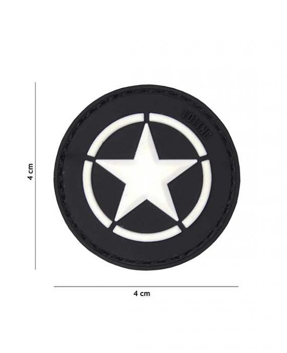 Patch Allied Star nera