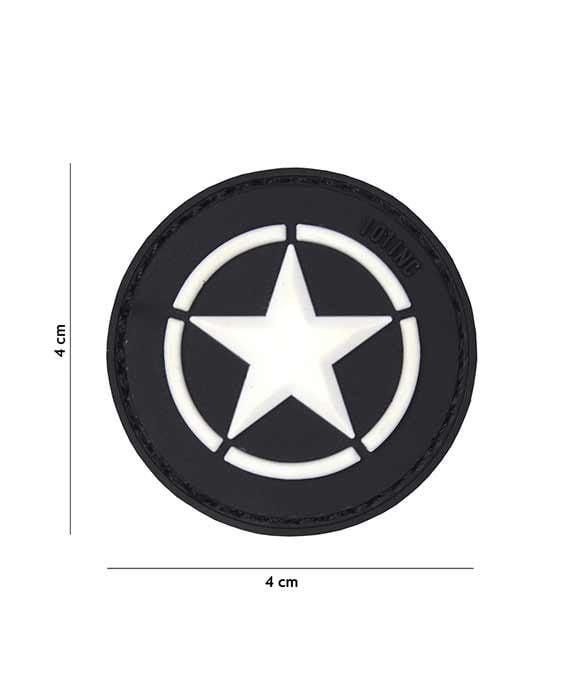 Patch Allied Star nera