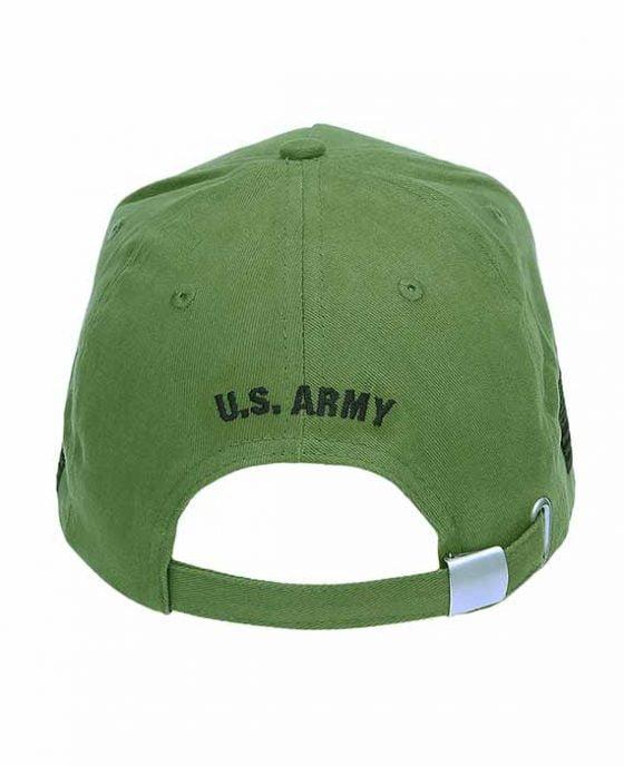 """Cappellino Verde """"U.S. Army Veteran"""""""