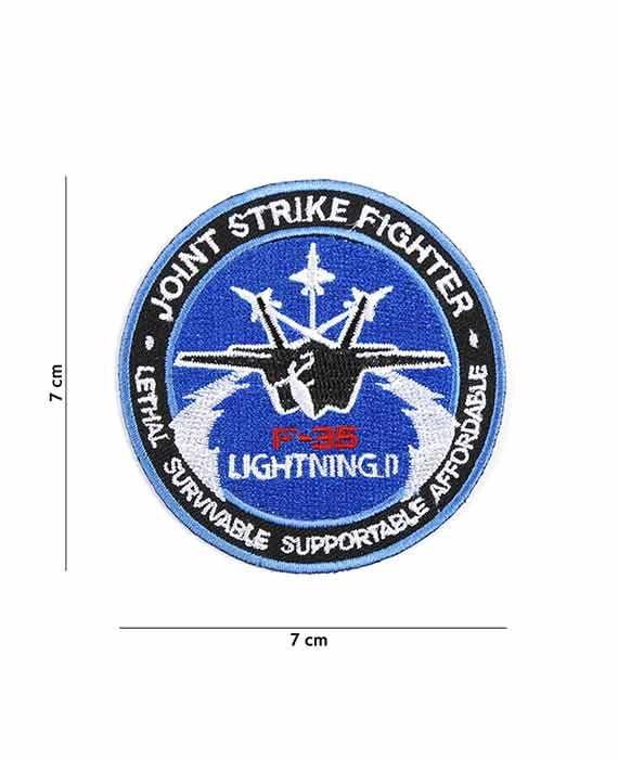 Toppa in Stoffa Jet F-35