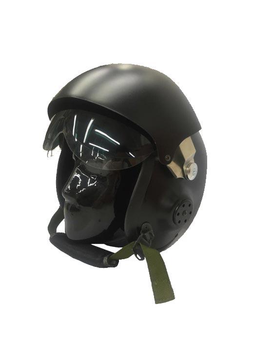 Casco Militare con Visiera a Occhiale Scuro