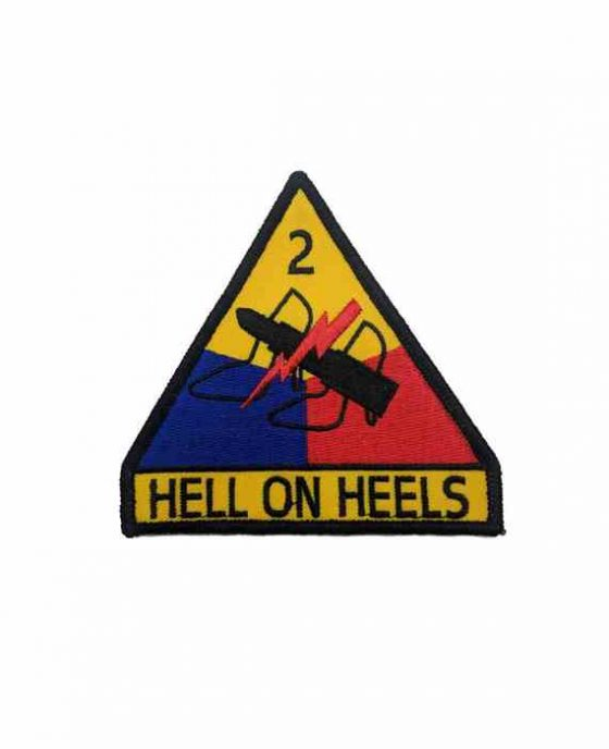 "Patch Hell on Heels ""L'inferno sui Tacchi"""