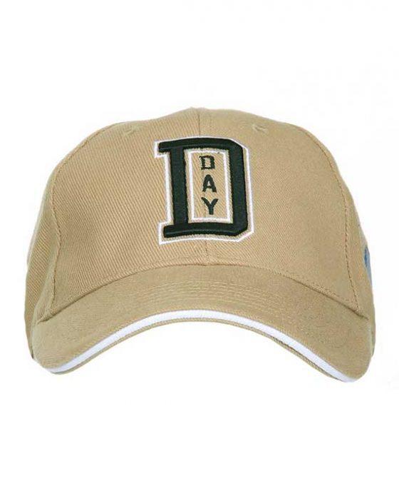 Berretto-Baseball-WWII-D-Day-Sabbia-Frontale