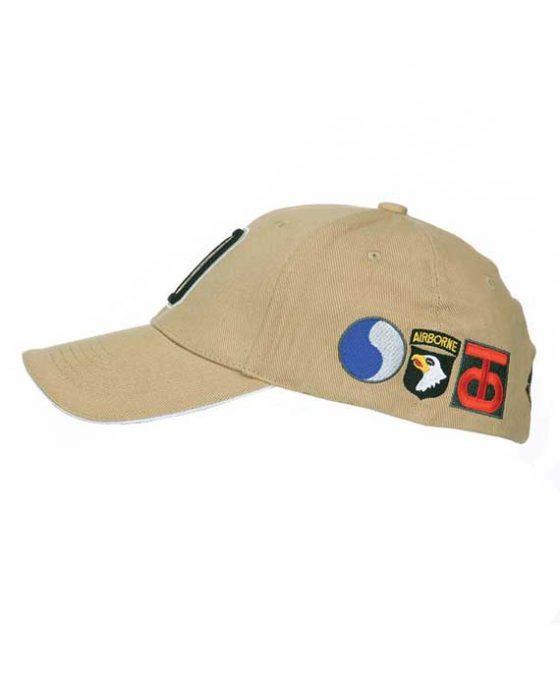 Berretto-Baseball-WWII-D-Day-Sabbia-Laterale-2