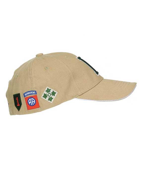 Berretto-Baseball-WWII-D-Day-Sabbia-Laterale