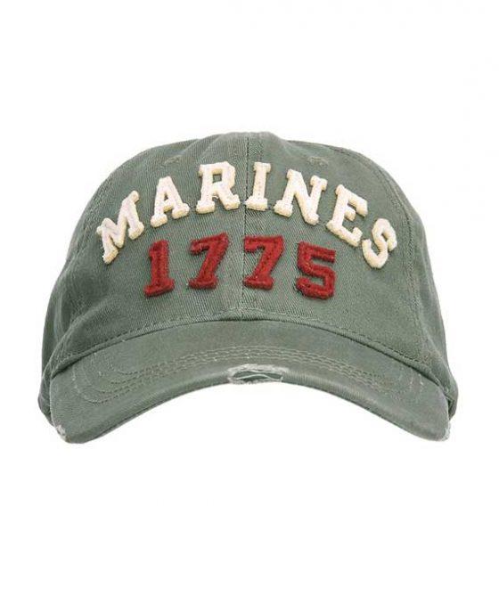 Berretto Marines Vintage Fronte