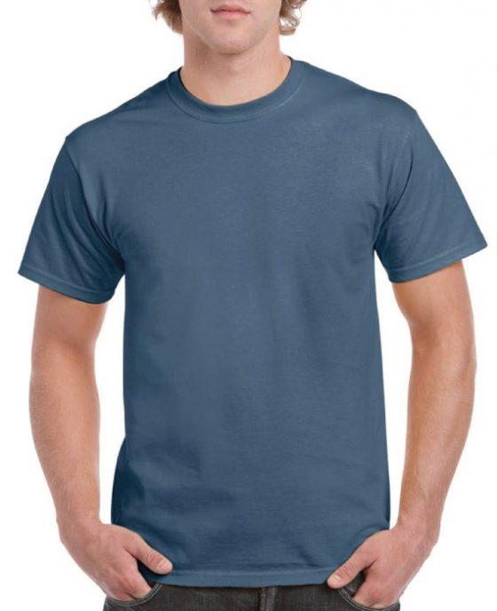 Maglietta-In-Cotone-Indaco