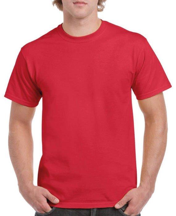 Maglietta-In-Cotone-Rossa