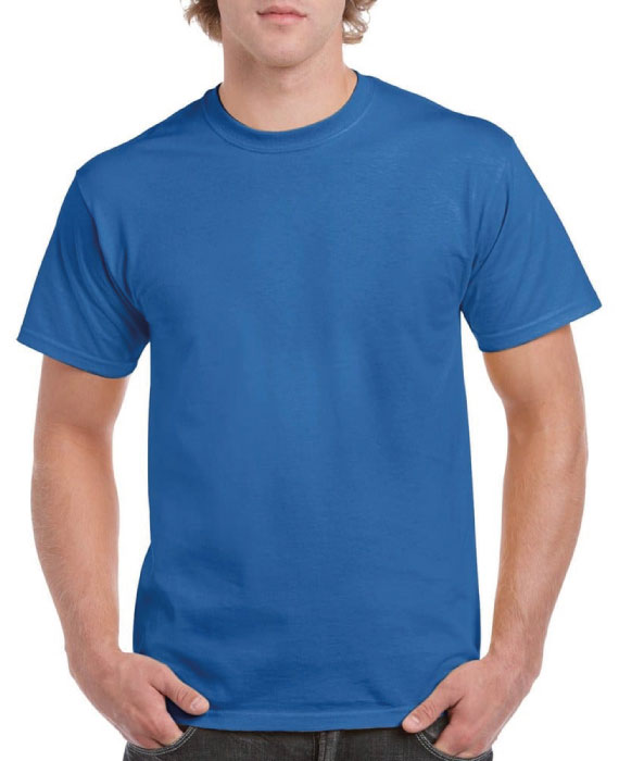 Maglietta-in-Cotone-Blu-Navy
