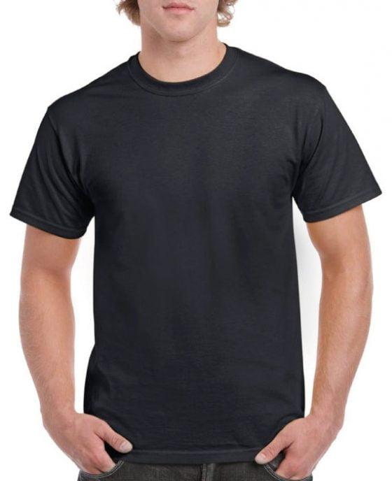 Maglietta-in-Cotone-Nera