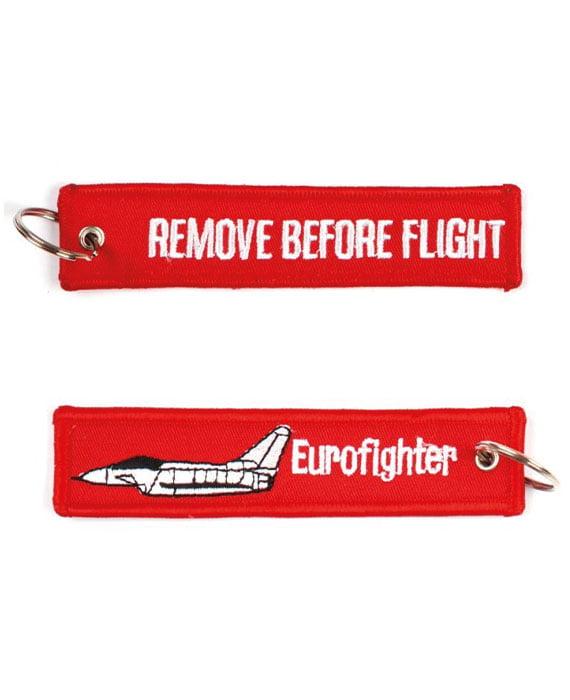 Portachiavi Remove Before Flight + Caccia EuroFighter