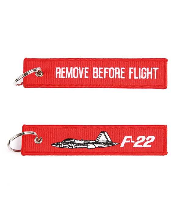 Portachiavi Remove Before Light + Caccia F-22