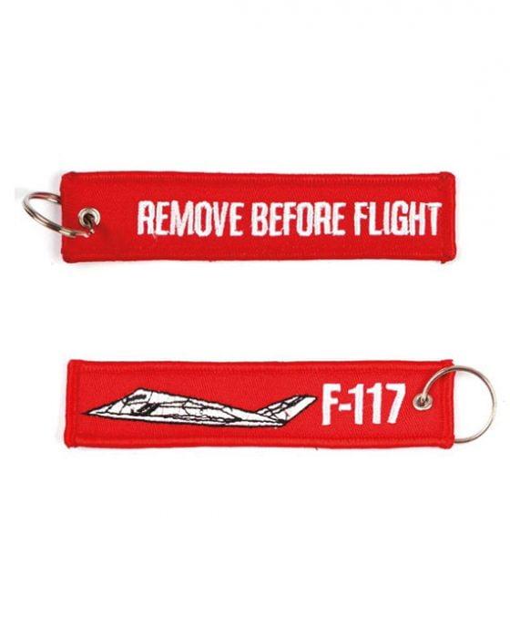 Portachiavi Remove Before Flight + F-117