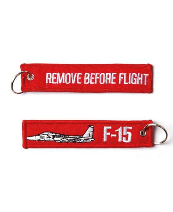 Portachiavi Remove Before Flight + F-15