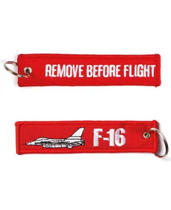 Portachiavi Remove Before Flight + F-16