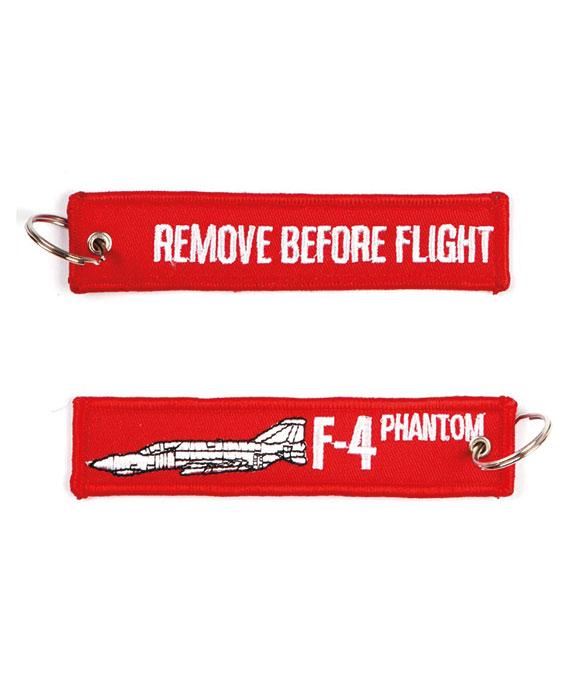Portachiavi Remove Before Flight + F-4
