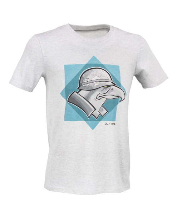 T-Shirt-con-Aquila-Militare