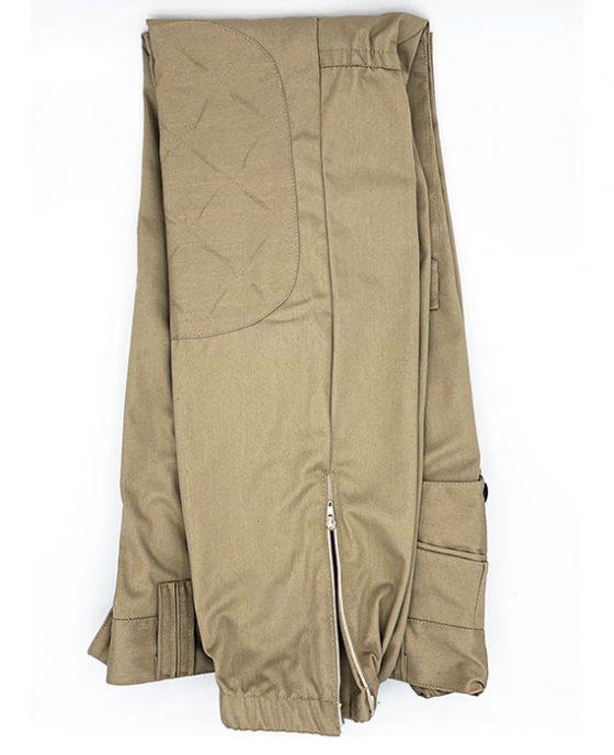 Pantalone-Cargo-Operativo-Beige-Zip